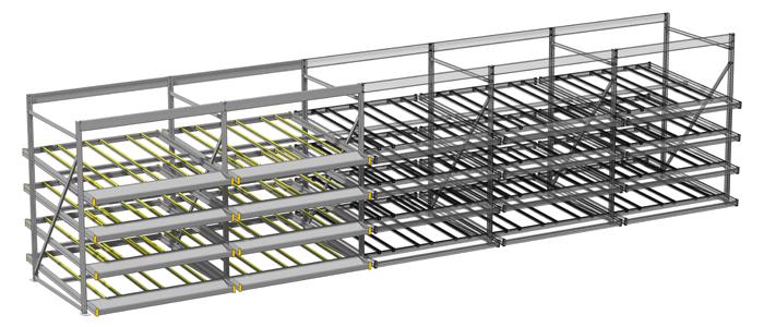 flow rack system